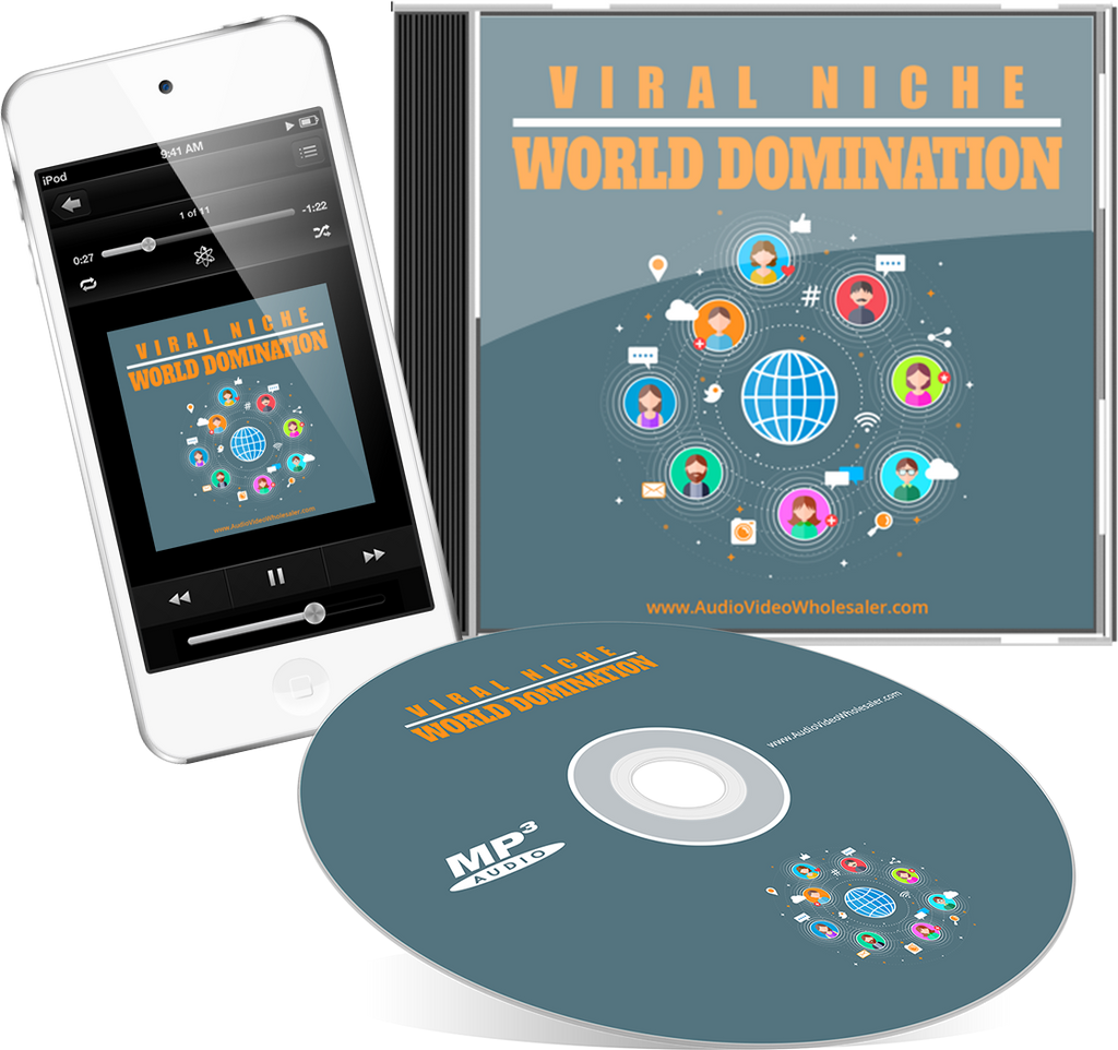 Viral Niche World Domination Audio Book (Master Resell Rights License)