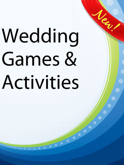 Wedding Games & Activities  PLR Ebook