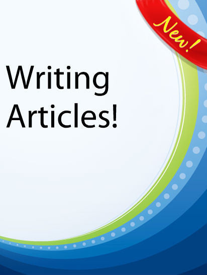Writing Articles  PLR Ebook