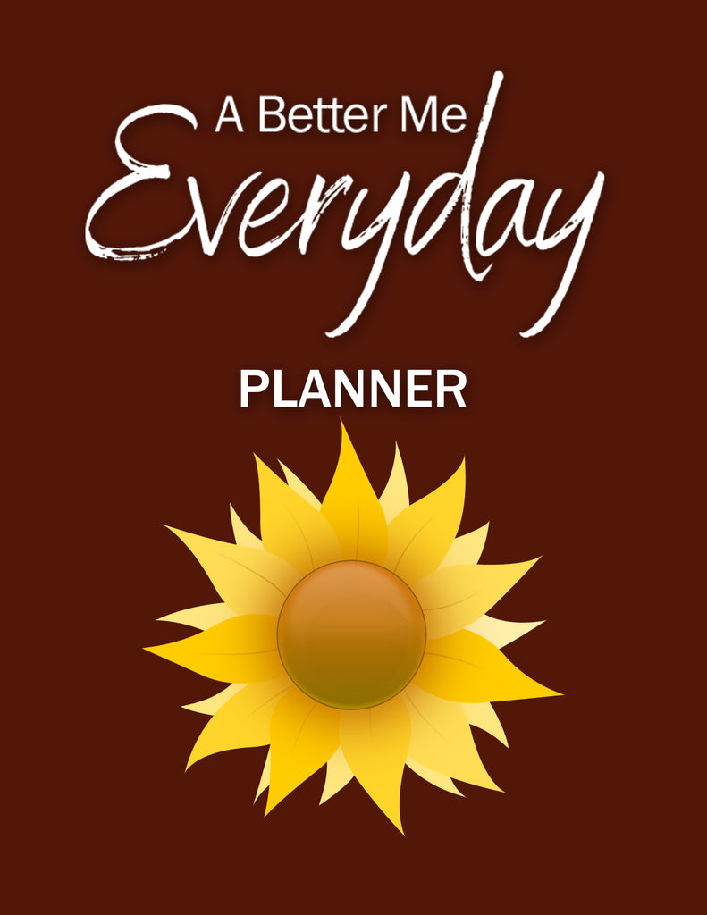 A Better Me Everyday Planner