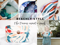 Beachly Style: The Tropics Cosmetic Pouch by Maaji