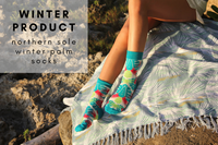 WINTER PRODUCT - NORTHERN SOLE WINTER PALM SOCK