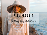 FALL BEACHLY PRODUCT: THE SHADY LADY PACKABLE HAT BY SEAFOLLY AUSTRALIA