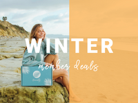 JUST IN TIME FOR THE HOLIDAYS! WINTER MEMBER DEALS ARE HERE!