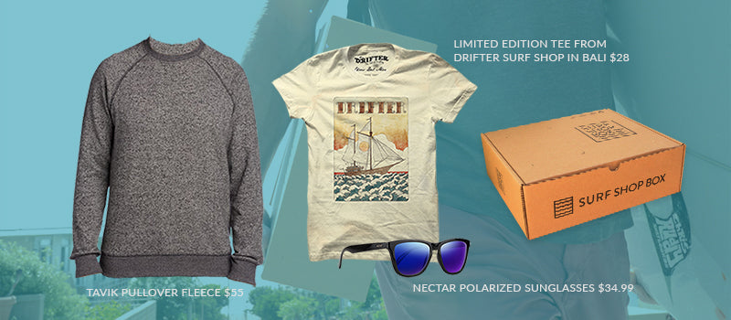Inside Surf Shop Box - November Box