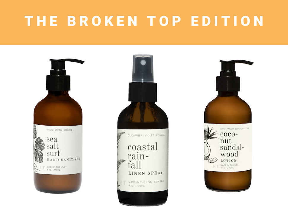 Beachly Member Market Broken Top Candle Co. Products