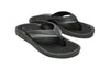 Olukai - 'Ohana Men's Beach Sandal - Black Charcoal
