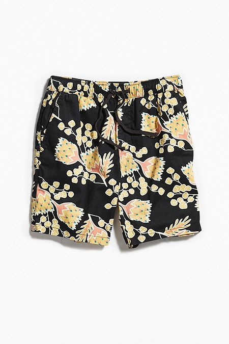 Katin - UO Outline Print Short - Black
