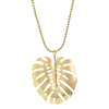 Salty Cali - Bali Leaf Necklace - Gold