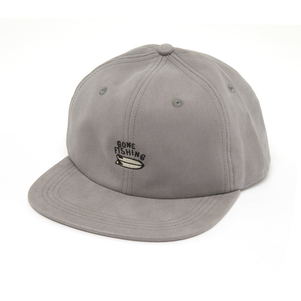 Captain Fin - Gone Fishing Hat - Grey