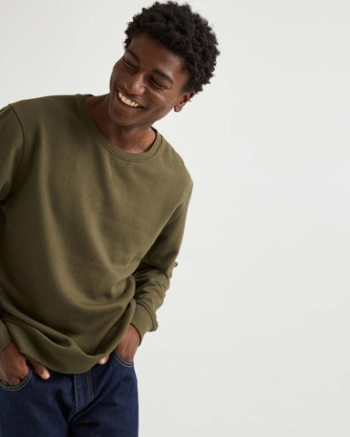 Richer Poorer - Men's Fleece Sweatshirt - Ivy