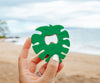 Poppin Bottles - Monstera Bottle Opener - Green
