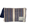 lu + elle - Nantucket Pouch - Blue