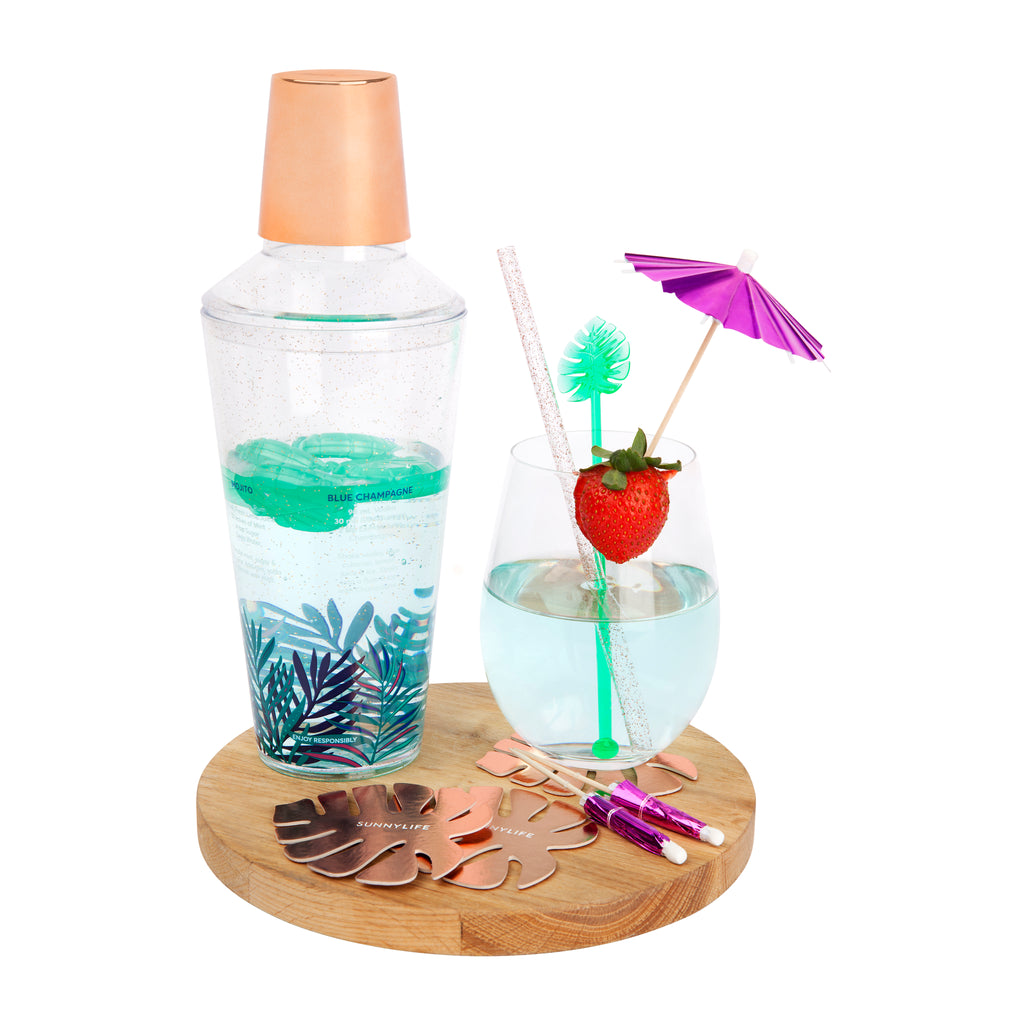 Sunnylife - Luxe Cocktail Kit - Electric Bloom