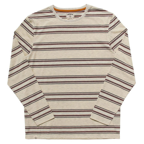 Captain Fin Co. - Scooter LS Knit - Crimson