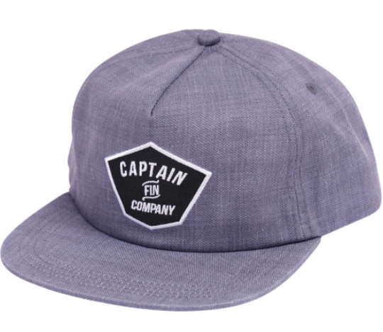 Captain Fin - Phil Hat - Heather Grey