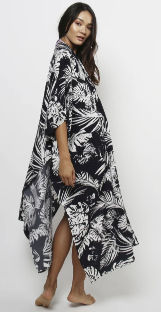 Lira - Yasmine Coverup - Black Palm