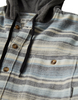 Billabong - Baja Flannel Shirt w/ Hood - Stone
