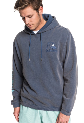 Quiksilver - Sweet As Slab Hoodie - Ocean