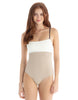 Tavik - Scarlett Moderate One Piece - Bone/Sand