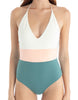 Tavik - Chase One Piece - Bone/Blue/Green