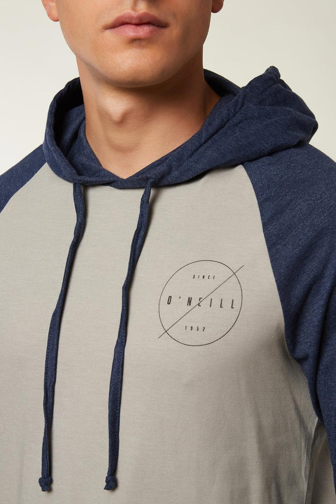 O'Neill - Fields Hooded Pullover - Heather Pewter
