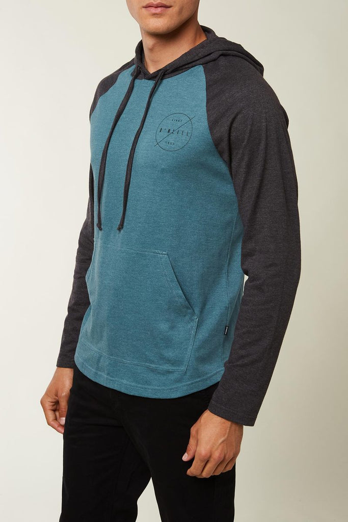O'Neill - Fields Hooded Pullover - Turquoise