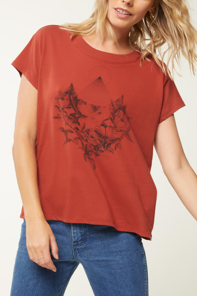 O'Neill - Late Night Tee - Red