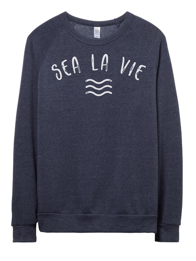 Alternative Apparel - Sea La Vie Fleece - Navy