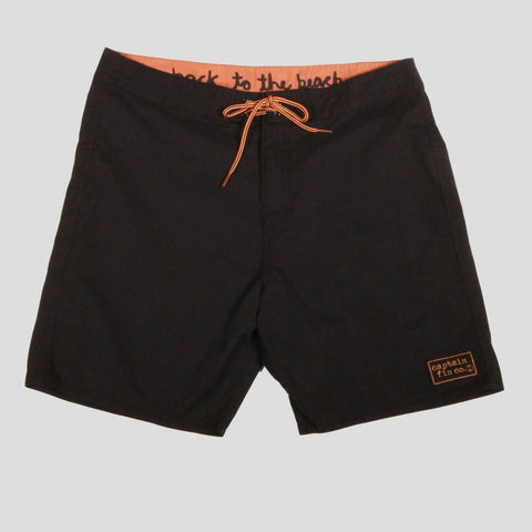 Captain Fin Co. - Staple Boardshort - Black