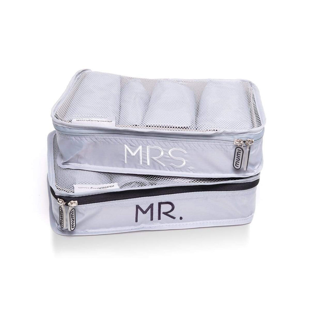 mumi Bundles Mr & Mrs honeymoon packing bundle