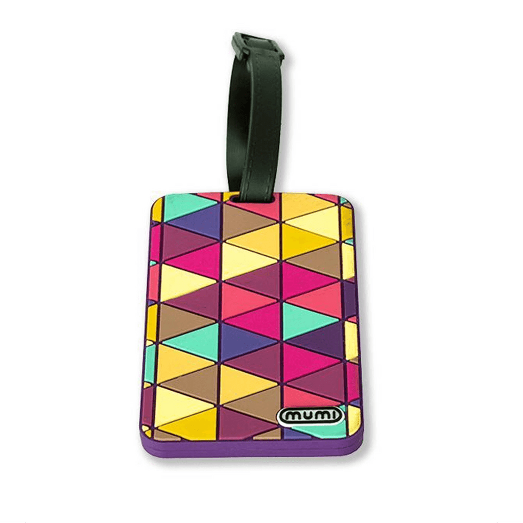 mumi luggage tag