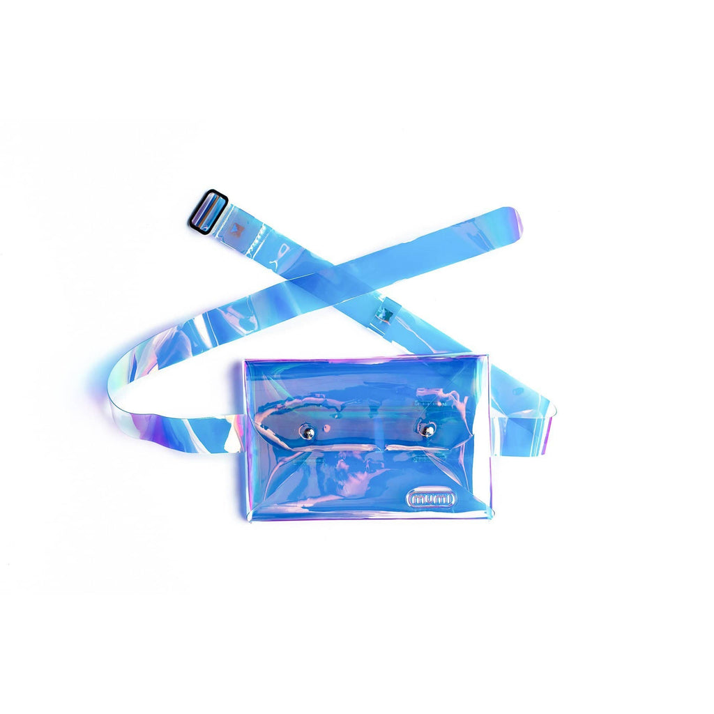 mumi on the go Default holographic belt bag