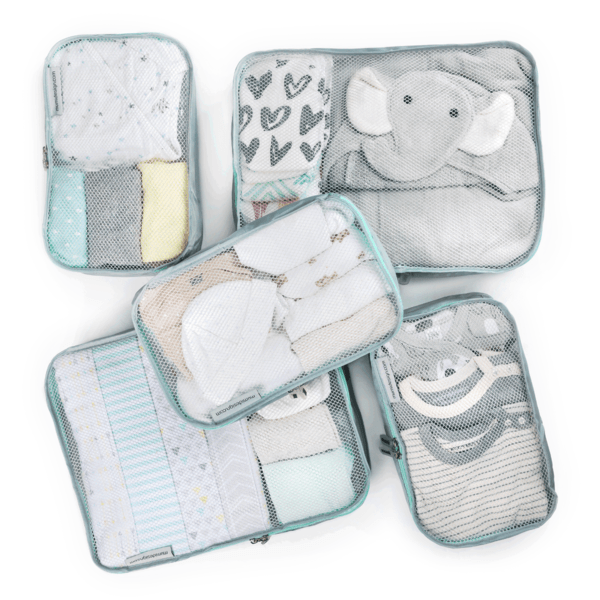 mumi PACKING CUBES piccolo packing cubes (set of 5)