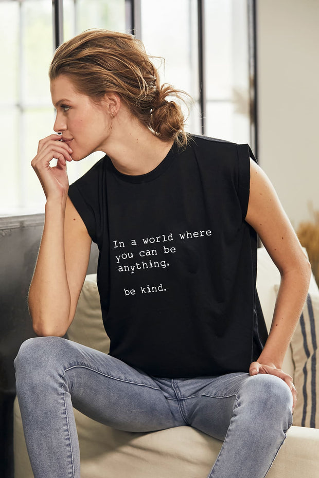 """Be Kind"" Roll Tee"