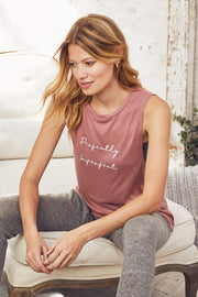 """Perfectly Imperfect"" Lounge Tank"