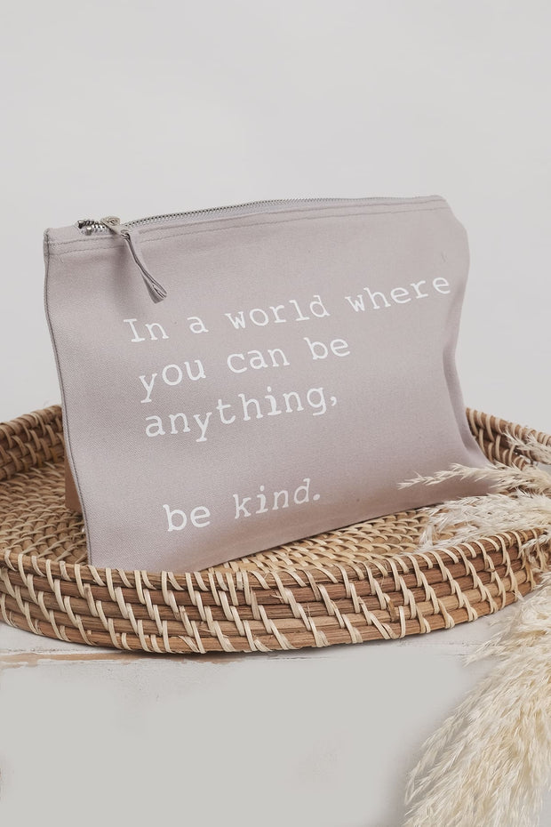 """Be kind"" NEW Accessory Bag"