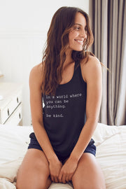 """Be Kind"" Flowy Tank"