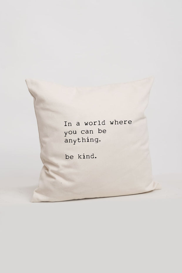 """Be Kind"" Cushion Cover"