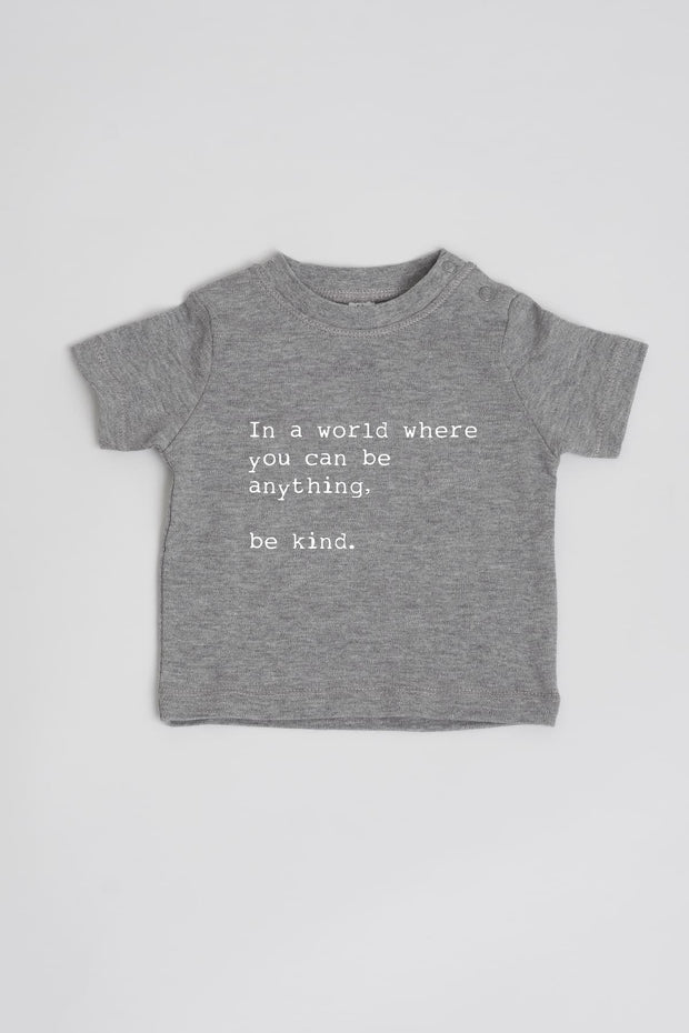 """Be Kind"" Cotton Baby Tee"