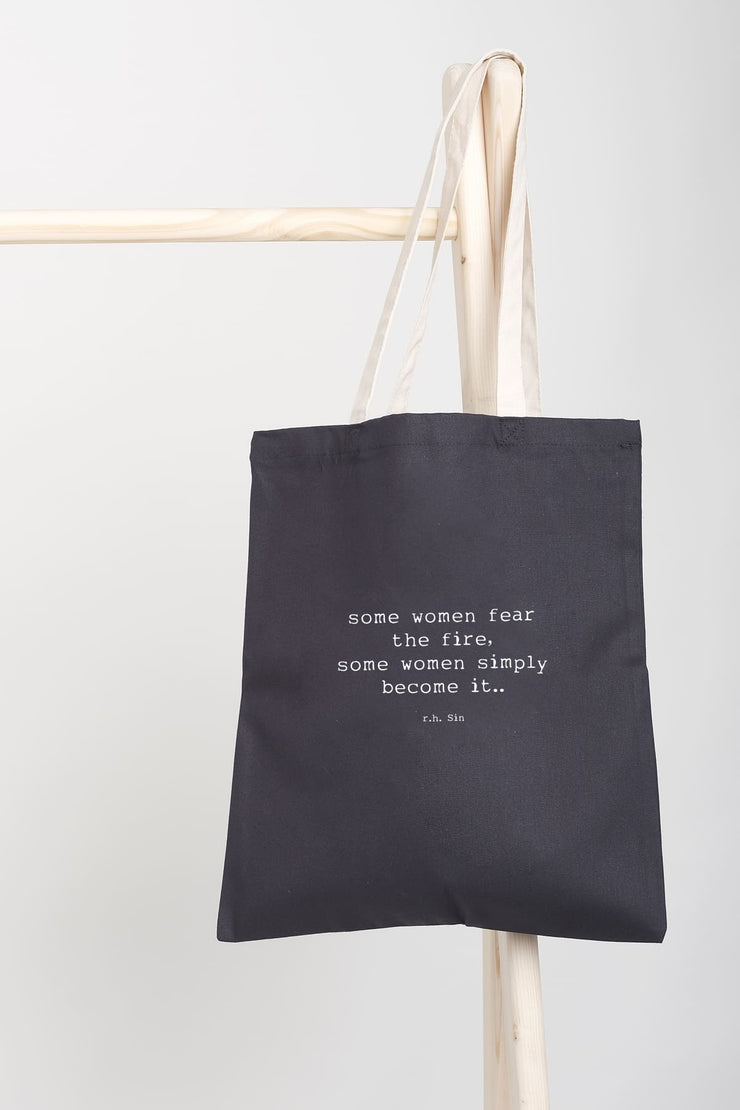 """Fire"" Tote Bag"