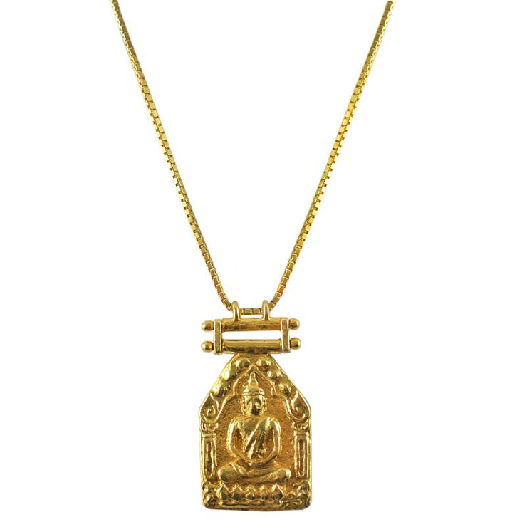 Buddha Necklace (18ct Gold)