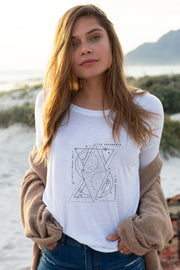 """Cosmic Mantra"" Long Sleeve Tee"