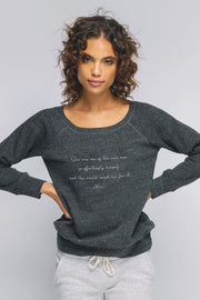 """Effortlessly Herself"" NEW Cozy Pullover"