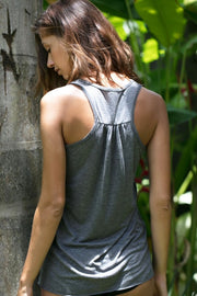 """Full Moon "" Flowy Tank"