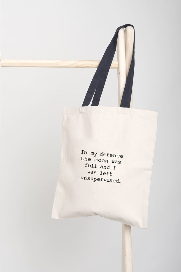 """Full Moon"" Tote Bag"