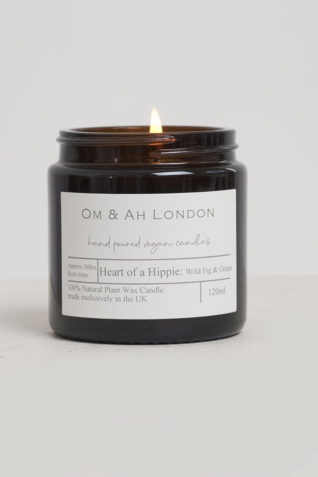"""Heart of A Hippie"" Candle"