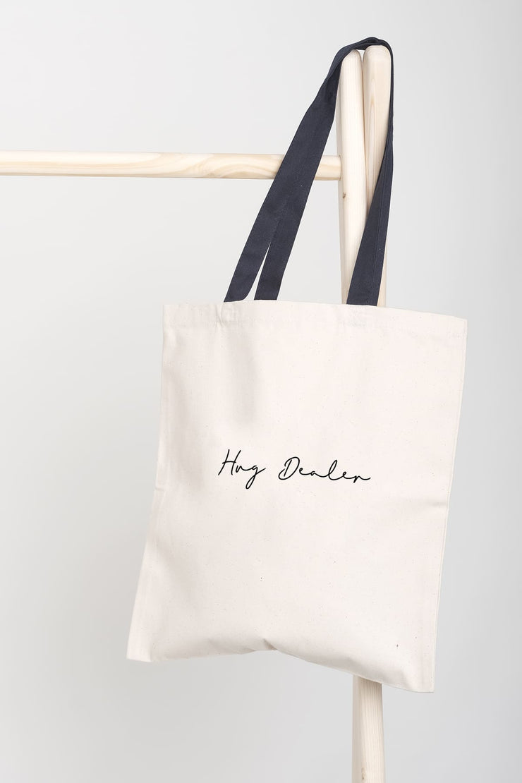 """Hug Dealer"" Tote Bag"