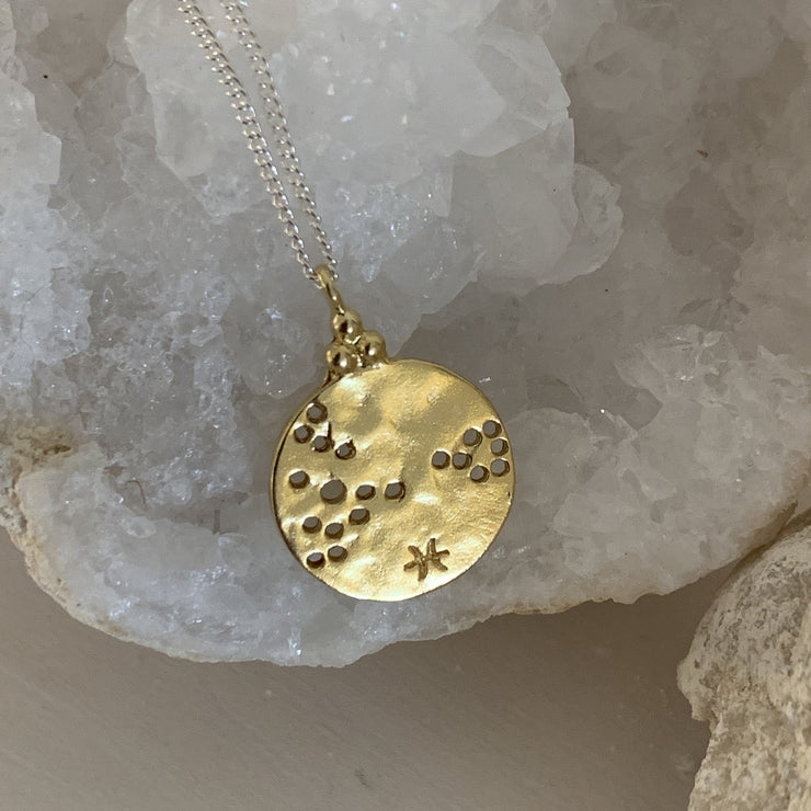 Zodiac Constellation Necklace (18ct Gold)