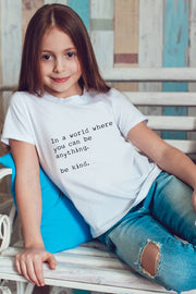 """Be Kind"" Kids Tee"